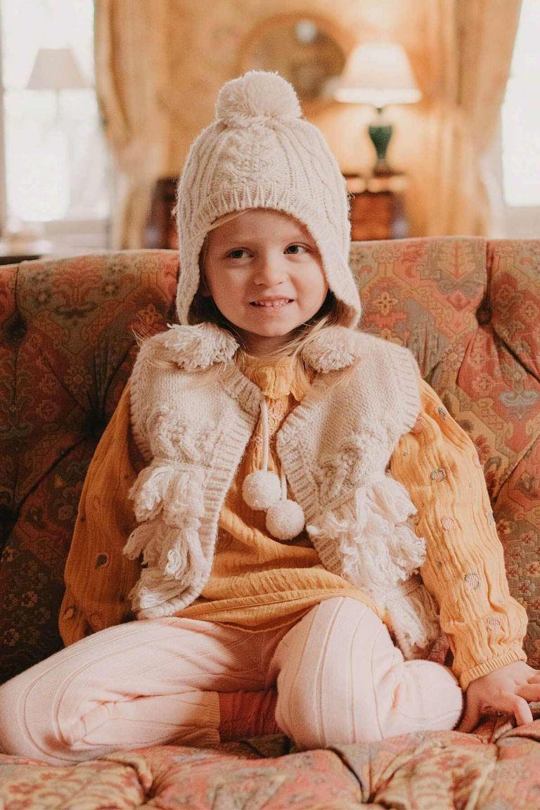 veste fille sylvania cream - louise misha