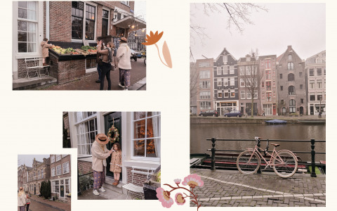 Our Winter 20 photoshoot in Netherlands